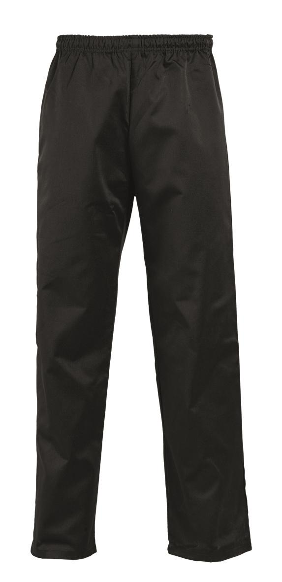 Παντελόνι με λάστιχο χρώματος μαύρο(Π-50-321-108)