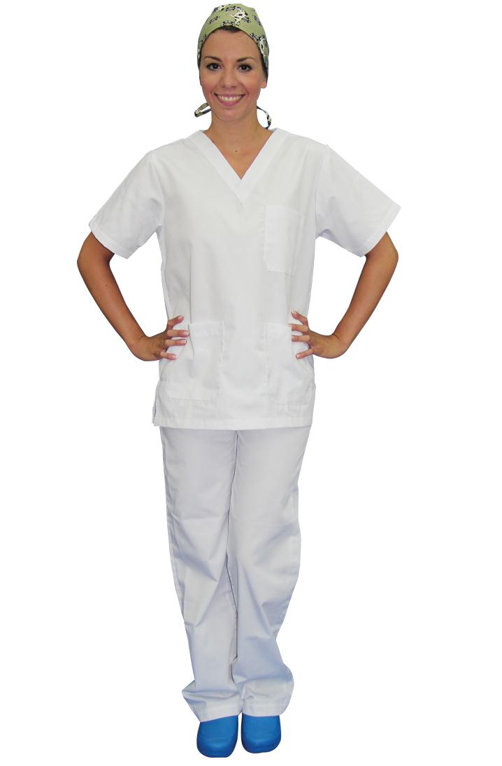 Κουστούμι λευκό νοσηλευτικό Π-3Z101