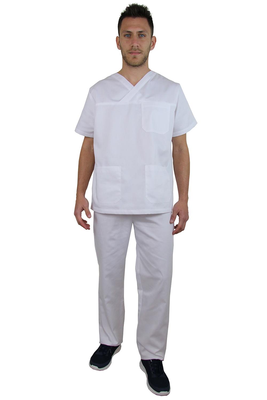 Κουστούμι λευκό νοσηλευτικό Π-3Z111